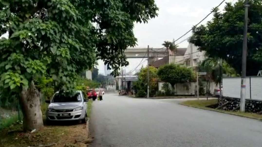 Quiet Suburb In Kuala Lumpur