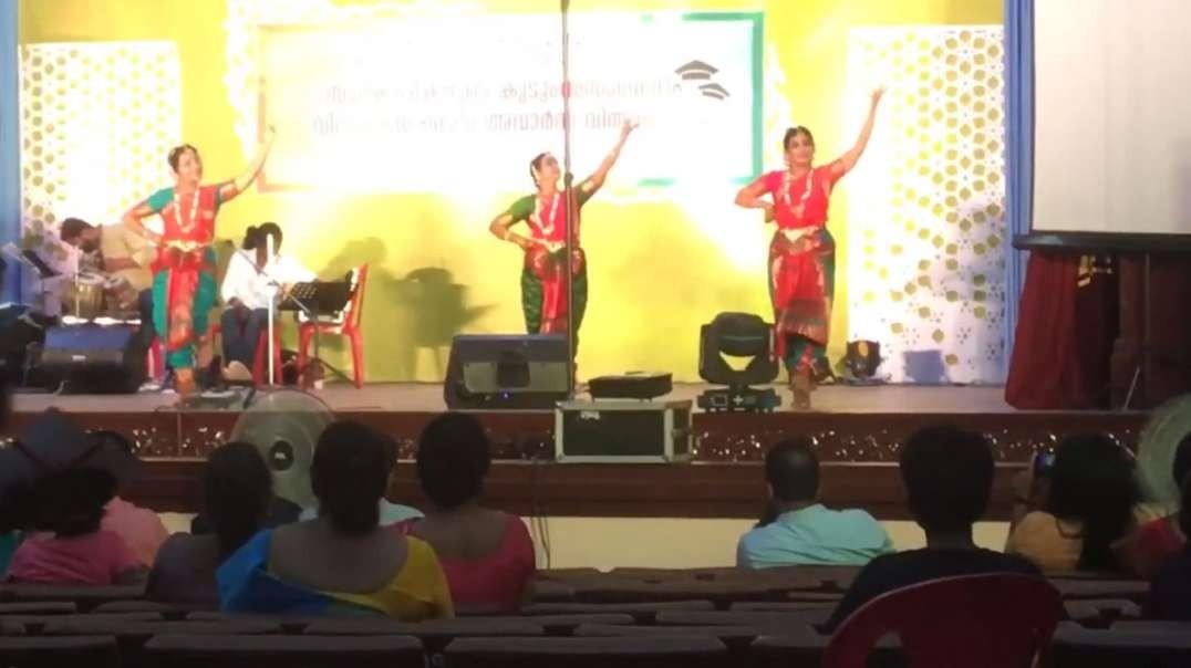 Indian Classical Dance in Senate Hall Kerala University - Sreekala & Team