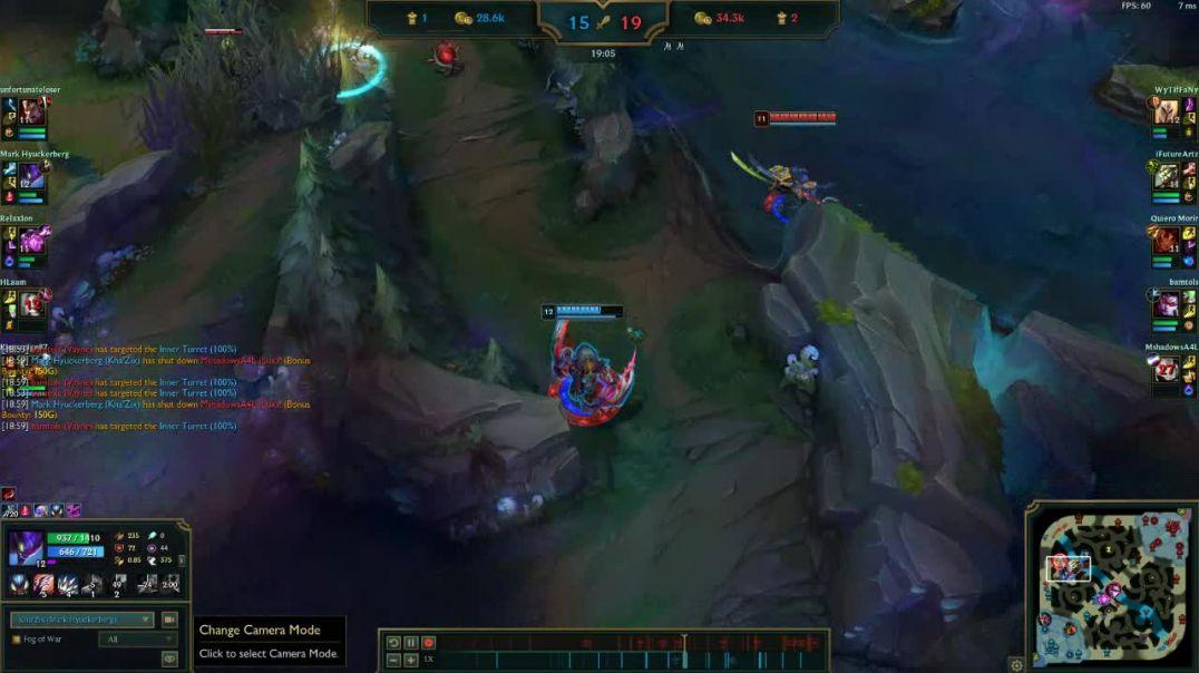 Bamboozling Three Players  as Kha'zix