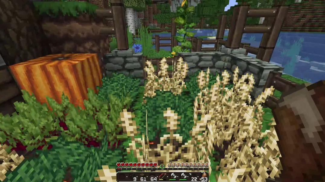 Minecraft Hobbit Hole Tour