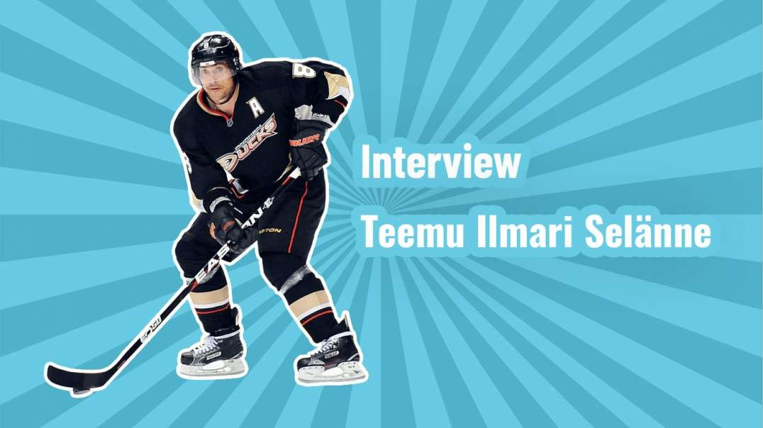 The Finnish Flash: Interview with Teemu Ilmari Selänne