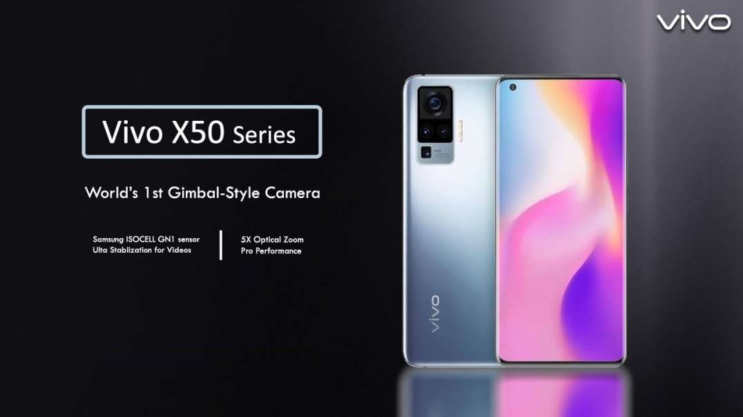 vivoX50Series | With Gimbal Camera System & Extreme Night Vision