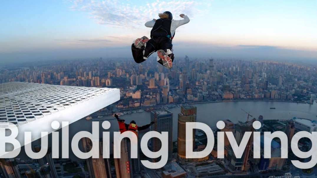 Building diving | Watch 'till the end