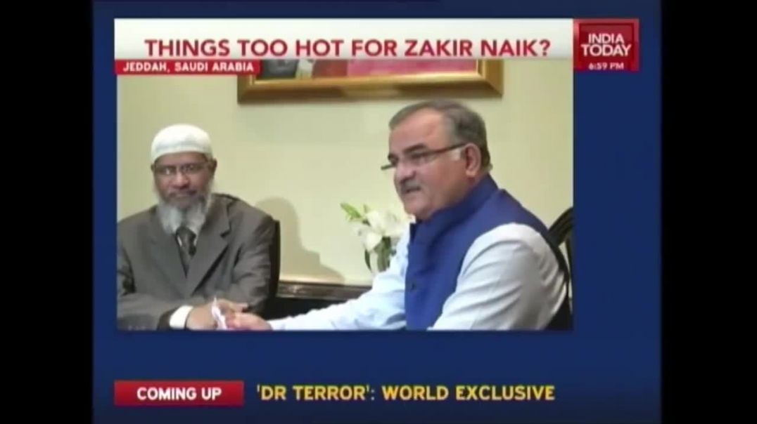 Interview of controversial Islamic preacher, Dr Zakir Naik