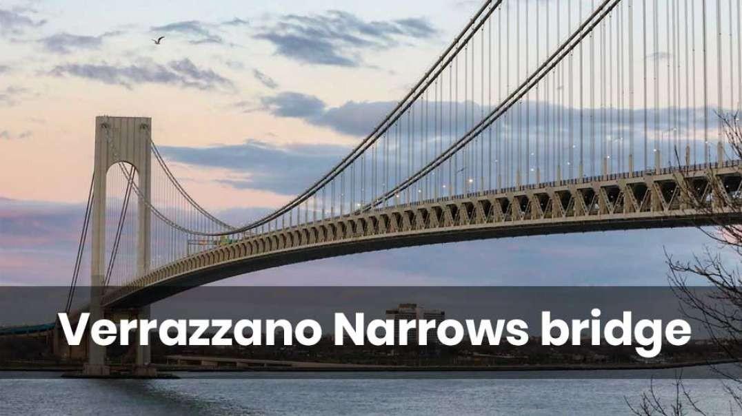The Verrazzano Narrows bridge