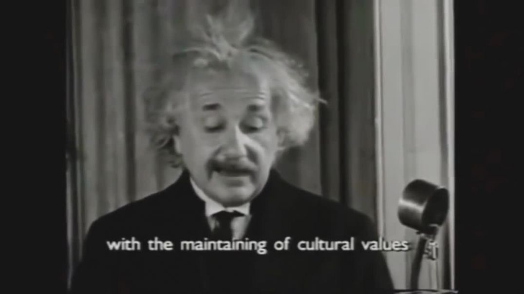 Real Speech Of Albert Einstein_Voice Of Albert Einstein_Einstein Was Speaking