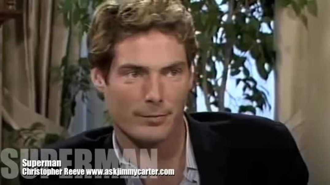 Christopher Reeve Interview